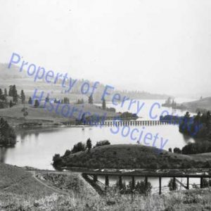 Curlew Lake and Trestle © Ferry County Historical Society