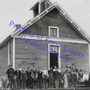 Karamin School P093320 © Ferry County Historical Society