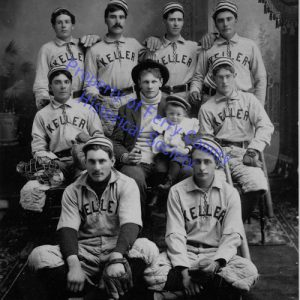 Keller Town Baseball Team P083005 © Ferry County Historical Society