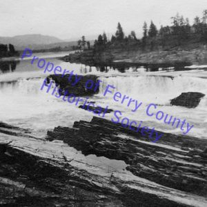 Kettle Falls on the Columbia P082106 © Ferry County Historical Society